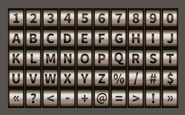 文字ホイールフォント、数字でコード南京錠記号