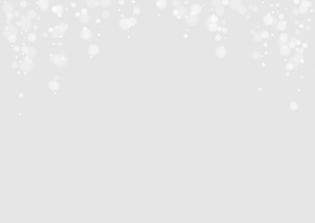 Фон белый снегопад