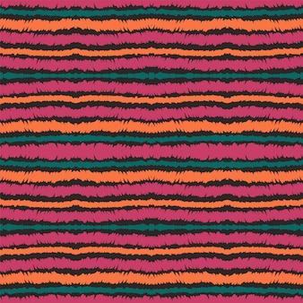 青い線ベクトルのシームレスなパターン。メキシコの紙のストライプ