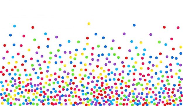 抽象的な点線の背景