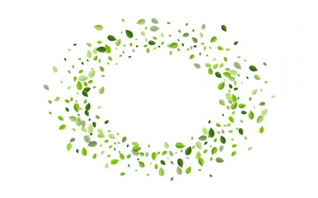 Болотные листья чайный фон. вихревая листва