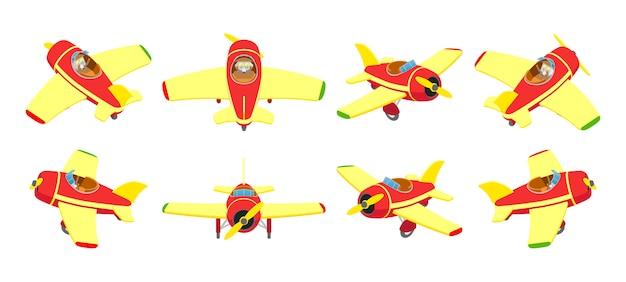 おもちゃの飛行機
