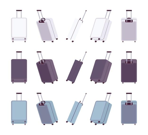 現代の旅行スーツケース
