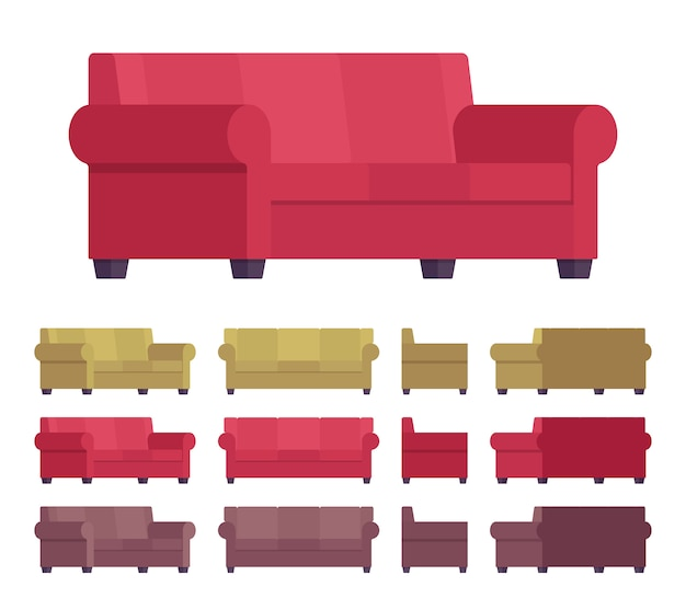 Комплект мебели для дивана