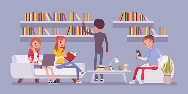 公共図書館の人々