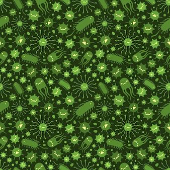 ウイルスとのシームレスなパターン