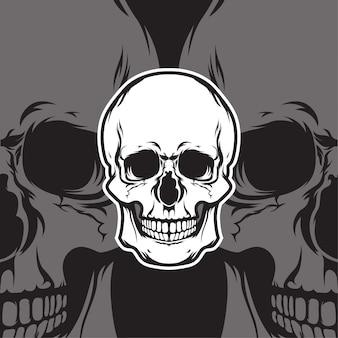 Логотип черепа