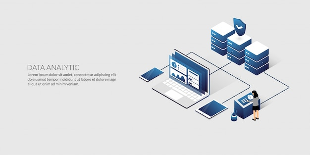 等尺性データ分析およびセキュリティデータセンターの概念