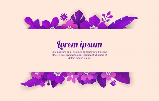 Цветочный фон шаблона для празднования, торговых мероприятий, праздников и поздравительных открыток, пригласительных билетов