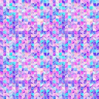 抽象的な幾何学的なシームレスパターン。かわいいモザイクの背景。