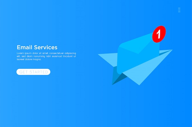 Иллюстрация почтовых сервисов
