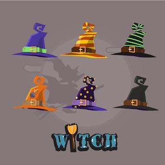 Шляпа ведьмы установлена.