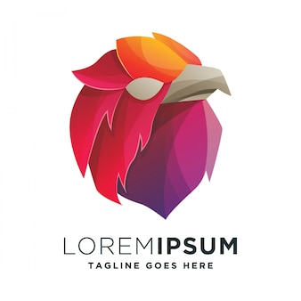Иллюстрация логотипа орла