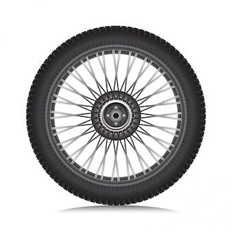 タイヤ付き合金ホイール