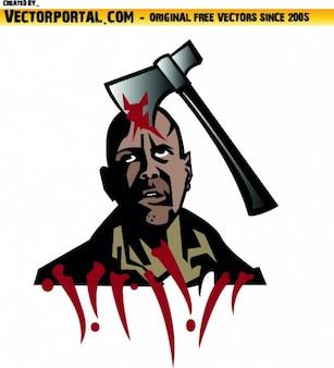 斧の殺人被害者