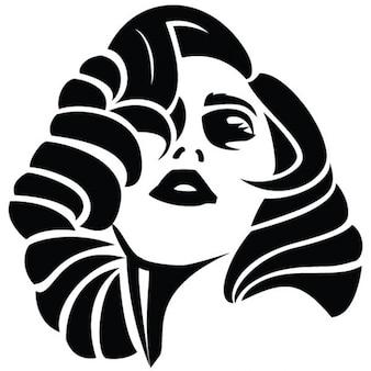 アメリカのポップ歌姫肖像レディー·ガガ