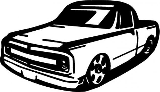 ヴィンテージピックアップトラック