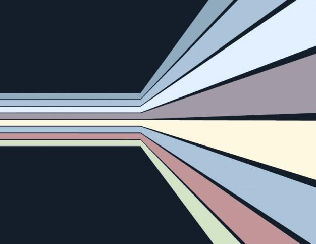ストライプの壁抽象的な背景の視点