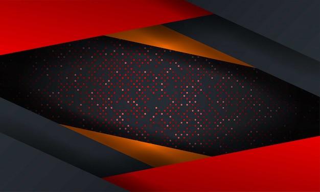 六角形のテクスチャと抽象的な高級メッシュの背景