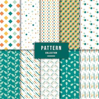 かわいいパターンのコレクション