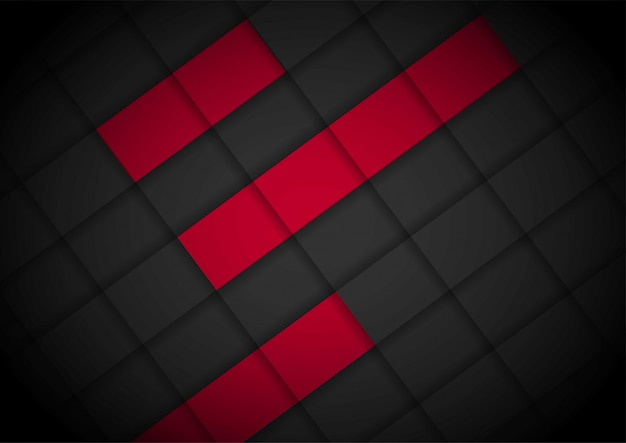 Красный свет стрелка черный с волнистой сеткой фона шаблон макета обложки