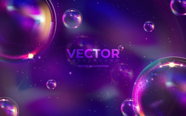 液体の色と抽象的な背景。グラデーションの背景。モダンなカラフルなスタイル