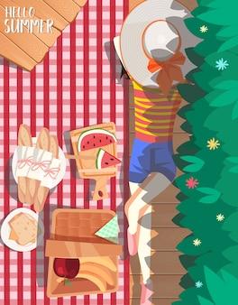 Дизайн летнего пикника