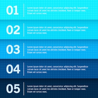 Абстрактный веб-дизайн, фон прогресса / выбор продукта или версии