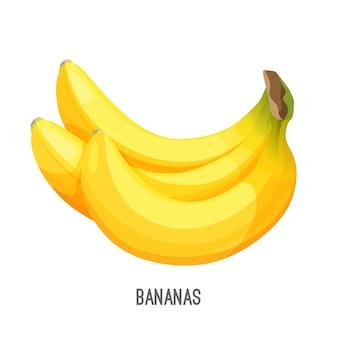 Бананы популярны вкусные продукты питания созрели