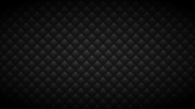Стеганый черный фон