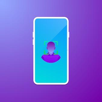 顔認識技術のコンセプト
