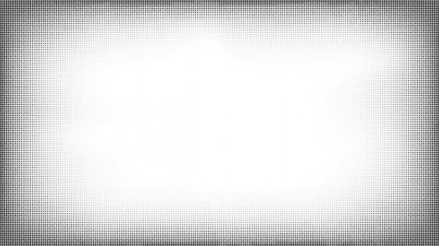 ハーフトーングランジポップアートフレーム。コミックスタイルの背景。