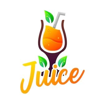 オレンジジュースのロゴ