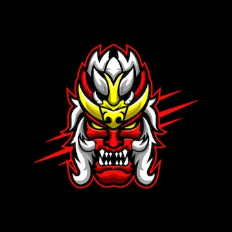 Демон лого