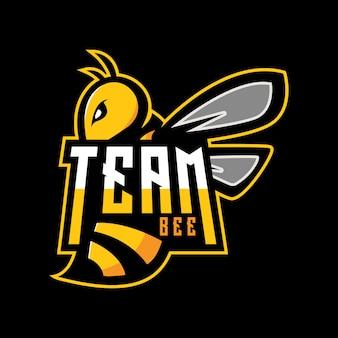 チーム蜂のロゴ