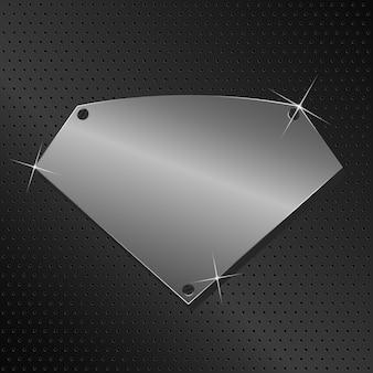 Металлический щит