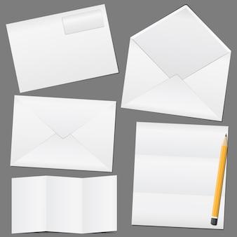 Конверты и бумага