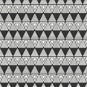 三角形のシームレスなパターン