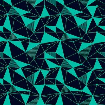幾何学的な線のシームレスパターン