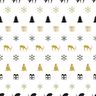 Рождественские и новогодние подарочные теги.