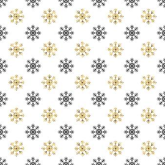 クリスマス新年のシームレスパターン