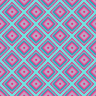 Этническая бесшовные модели. племенная линия печати в африканском, мексиканском, индийском стиле