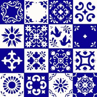 メキシコのタラベラパターン