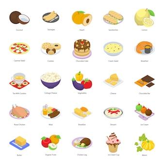 Векторы нездоровой пищи