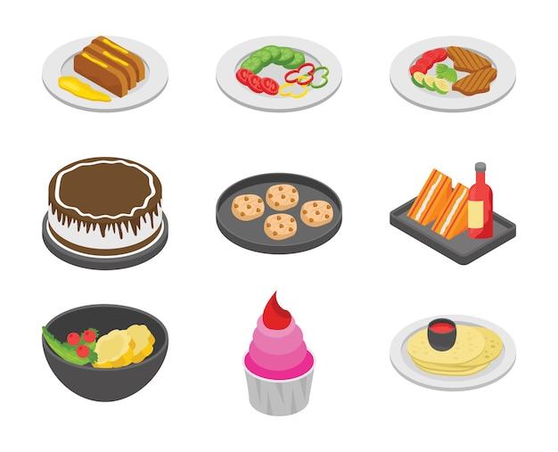Набор иконок для приготовления пищи