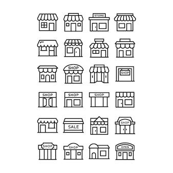 Пакет иконок магазина