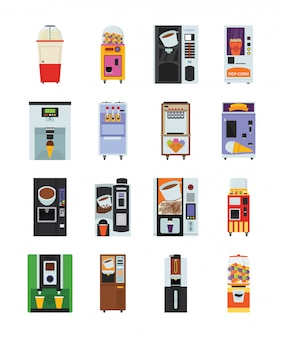 自動販売機のパック