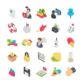 Коллекция бизнес икон