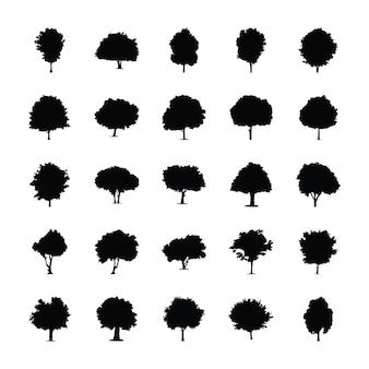 木デザインピクトグラム