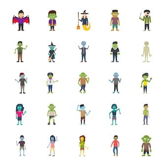 Пакет персонажей хэллоуина
